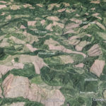 This google earth photo is from the view point looking at the Siletz gorge from the South.