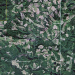 This google earth photo shows a 2013 view of the Siletz water shed.